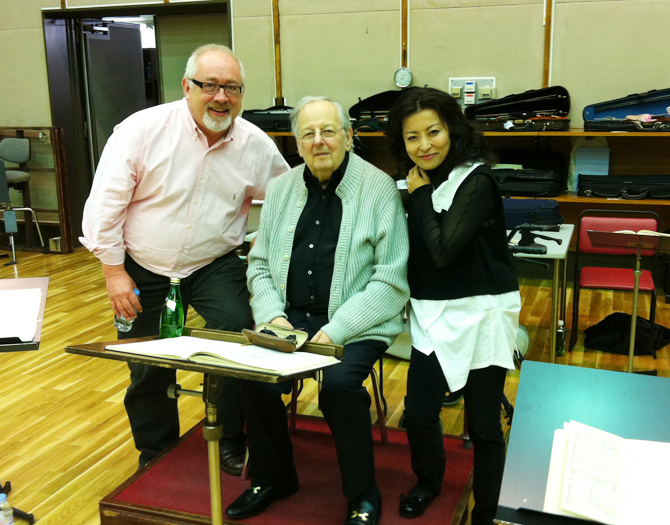NHK Symphony Orchestra: Rehearsal with Maestro Andre Previn