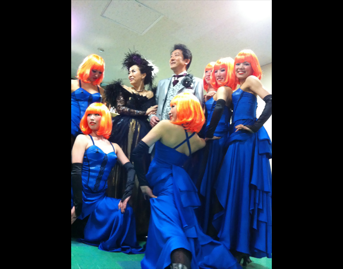 NHK New Year's Opera Concert backstage (2013/01/03)